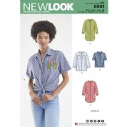 6561 New Look Pattern: Misses Shirt